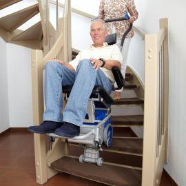LIFTKAR PT safe on the stair