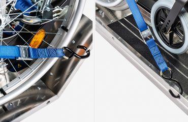 LIFTKAR PTR Belt system for drive-on ramps