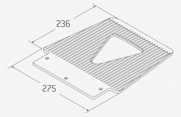 LIFTKAR SAL Toe plate Standard