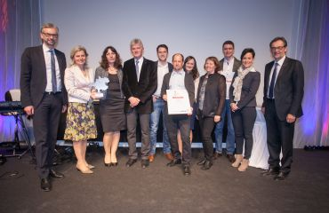 A good place to work - Award Mühlviertel as regional employer, by journal Rundschau