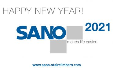 Happy and Prosperous New Year 2021 by the SANO team in Austria !