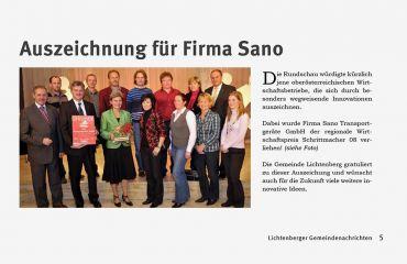 Pacemaker 08award presented by Rundschau magazine