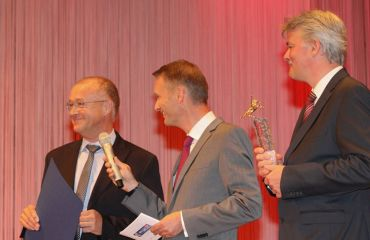 Award Pegasus in Goldby daily journal OÖNachrichten(category up to 49 employees)