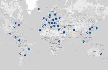 Sets up international dealership network