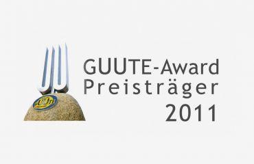 GUUTE Award 2011awarded by Upper Austrian Chamber of Commerce