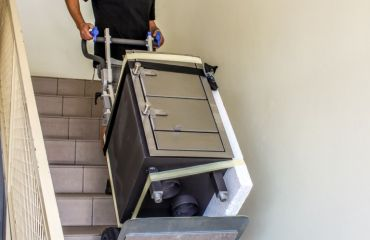 LIFTKAR for transport of goods over stairs by SANO Austria