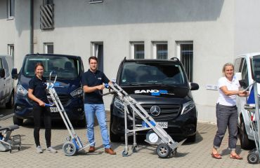 LIFTKAR stair climbers for cargo | for mobility over stairs and on the way