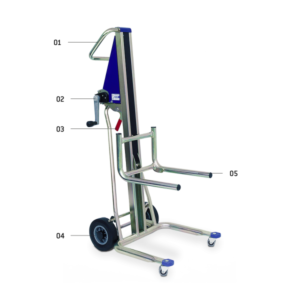 UNIKAR - hand truck for loads up to 120 kg