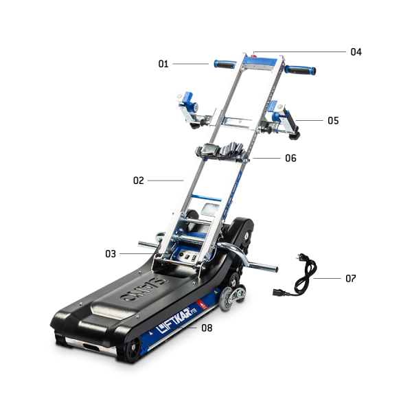 LIFTKAR PTR - Powered tracked stairclimber