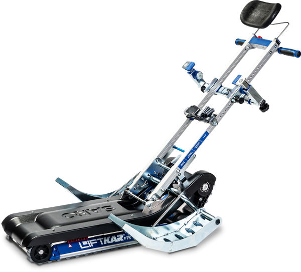 Powered tracked stairclimber LIFTKAR PTR