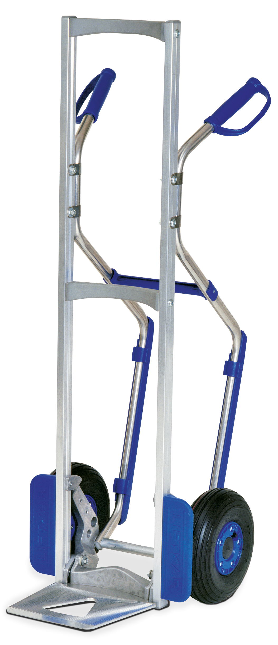MODULKAR Hand truck with pistol grips and stair gliders