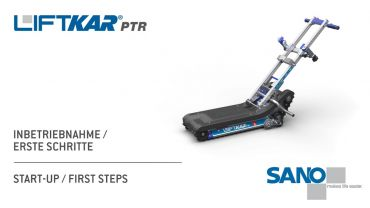 LIFTKAR PTR tracked stairclimber - start-up / first steps