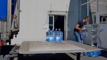 Modulkar - water bottle truck
